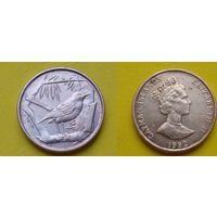 Каймановы острова 1 цент 1992г.