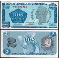 Венесуэла. 2 боливара 1989 [UNC]