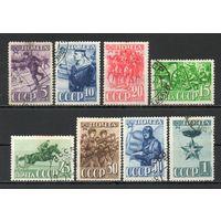 Красная Армия  СССР 1941 год серия из 8 марок