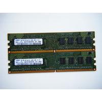 Оперативная память DDR-2  1GB