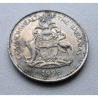 5 центов 1998 года Багамские острова - из коллекции