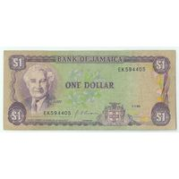 Ямайка, 1 доллар 1990 год.