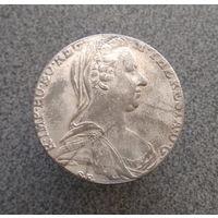 Монета Талер 1780 Австрия Мария Терезия (копия)