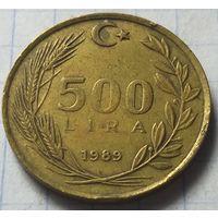 Турция 500 лир, 1989      ( 2-6-2 )