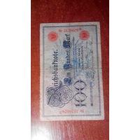Германия 100 марок 1898