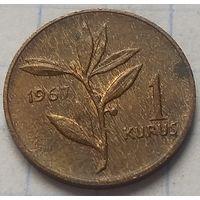 Турция 1 куруш, 1967        ( 6-3-2 )