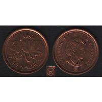 Канада _km490 1 цент 2006 год km490a магнит (L) (h02)
