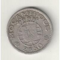 Мозамбик 2 1/2 эскудо 1953