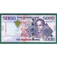 СЬЕРА  ЛЕОНЕ  5000 ЛЕОНЕ  2013 год  UNC