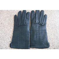 Перчатки женские (натуральная кожа) новые