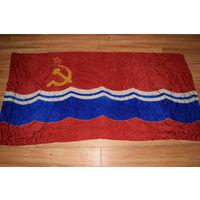 Большое. Флаг. Знамя. Эстонская ССР.