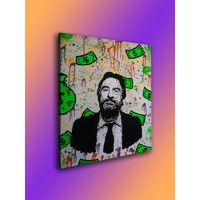 "Инсталяция ""Роберт Де Ниро""  в стиле ""New school"", абстракционизм, реализм, поп-арт, модернизм.  620x815"
