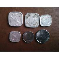 Монеты Индии( сборный лот)