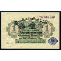 Германия. 1 Марка 1914 года. P52 UNC
