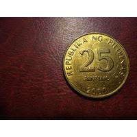 25 сентимо 2000 года Филиппины (состояние!!!)