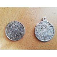 Католические медальоны 1905г. В память восстания 1830.1863годов