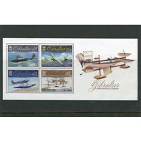 Гибралтар. 100 лет авиации, блок