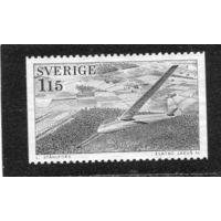 Швеция. Планер над Олельбергом