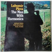 Lubomir Pleva. The Man With Harmonica. Mint