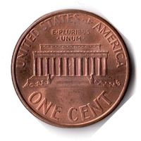 США. 1 цент. 1997 D