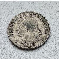 Аргентина 20 сентаво, 1906 7-12-5