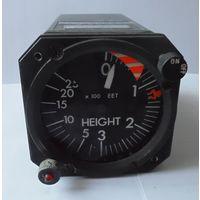 Авиационный высотомер England STTE ( радиовысотомер прибор авиа авиация самолет самолетный )