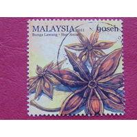 Малайзия 2011г. Цветы.