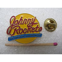 Знак. Джонни Рокетс, оригинальный гамбургер. тяжёлый, цанга