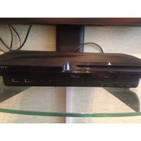 Игровая приставка Sony PlayStation 3  PS3 Slim 256 GB, в отличном состоянии, 2 джойстика, + диски с футболом FIFA и гонки Gran Turismo