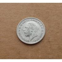 Великобритания, 6 пенсов 1936 г., серебро
