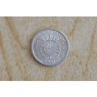 Мозамбик 5 эскудо 1960(серебро)