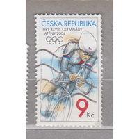 Спорт Чехия  Олимпийские игры 2004 года - Афины Греция 2004 г лот 2
