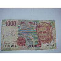 Италия 1000  лир
