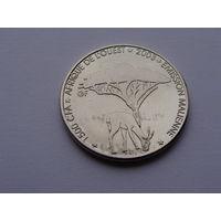 """Мали. 1500 франков 2003 год  UC#200 """"Антилопа """" Слон"""""""