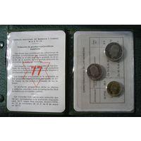 Испания, Набор монет 1977  (10)