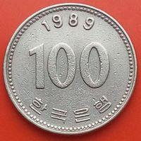 100 вон 1989 ЮЖНАЯ КОРЕЯ