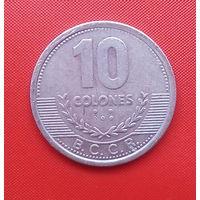 57-26 Коста-Рика, 10 колонов 2008 г.