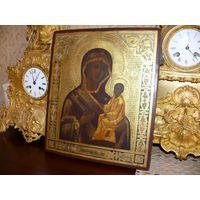 Икона Тихвинская Божья Матерь. Шедевр.