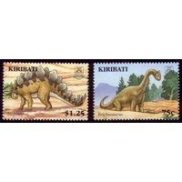2 марки 2006 год Кирибати Динозавры 1012,1015