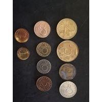 Лот монет болгария