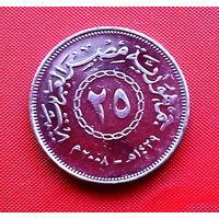 35-18 Египет, 25 пиастров 2008 г.