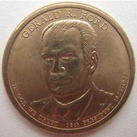 США 1 доллар 2016 г. 38-й президент Джеральд Форд