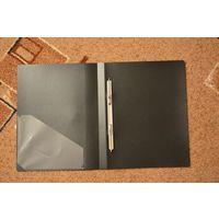 Папка с пружинным скоросшивателем А4 (чёрная)