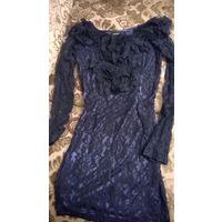 Стильное стреч платье