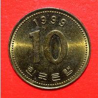 34-41 Южная Корея, 10 вон 1999 г.