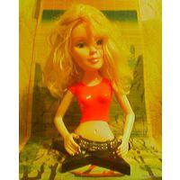 Интерьерная музыкальная кукла Барби, Barbie (высотой 36 см.)