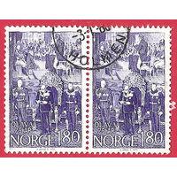 Олов V в сцепке 1978 г. Норвегия