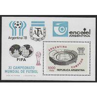 1978 Аргентина 1344 / B20 1978 Чемпионат мира по футболу в Аргентине 4,00евро