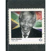 Канада. Нельсон Мандела