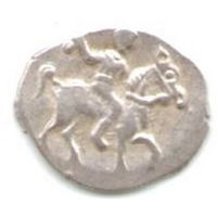 Деньга 1535-1584 Иван IV Васильевич Московский денежный двор